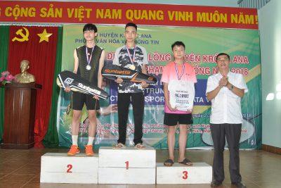 Giải vô địch cầu lông Huyện Krông Ana tranh cúp CLB Phạm Văn Đồng