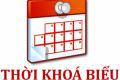 THỜI KHÓA BIỂU ÁP DỤNG TỪ 20/9/2021 (TRỰC TIẾP VÀ ONLINE)