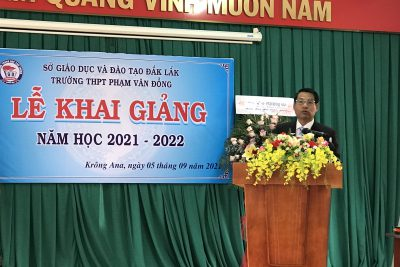 LỄ KHAI GIẢNG NĂM HỌC 2021-2022